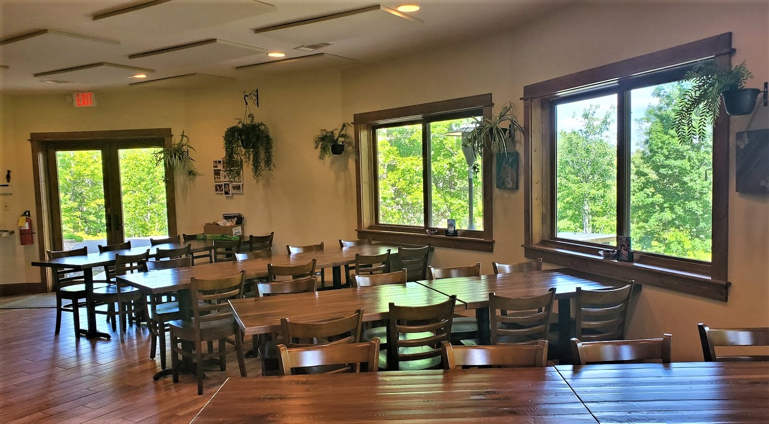 Dining Hall Seating at Bald Mountain